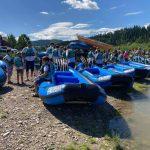 rafting grupowy