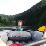 rodzinny spływ pontonowy