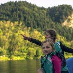 rafting z dziećmi